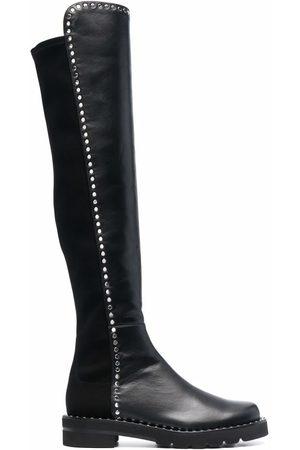 Stuart Weitzman 5050 Lift knee-high studded boots