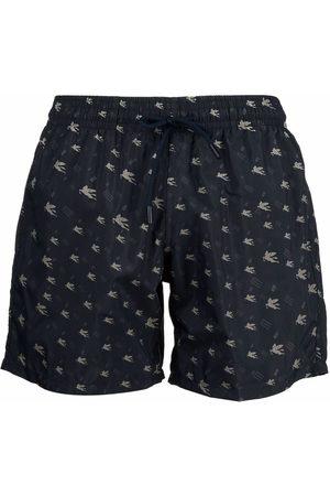 Etro Logo-print swimming trunks