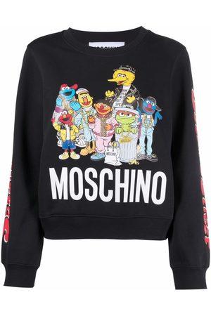 Moschino Sesame Street© logo-print sweatshirt
