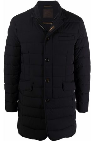 MOORER Nabil quilted mid-length padded coat