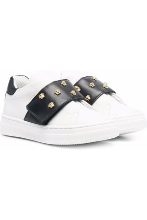VERSACE Medusa Head touch strap sneakers