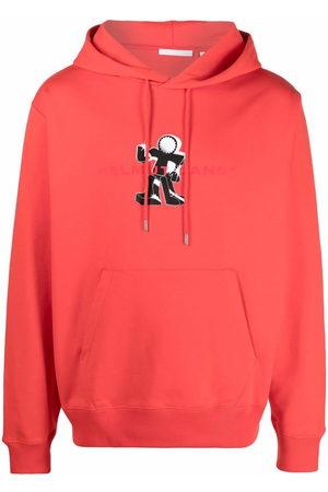 Helmut Lang Men Hoodies - Figure print hoodie