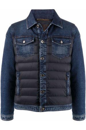 MOORER Men Denim Jackets - Mondor-104S padded denim jacket
