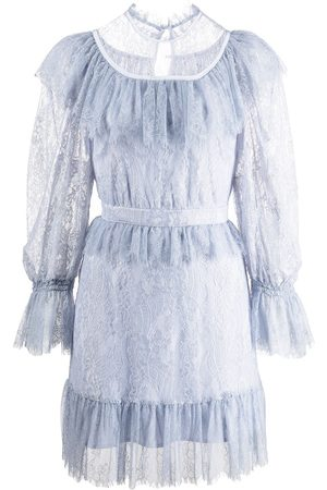 Alice McCall Women Party Dresses - Lace-detail tiered mini dress