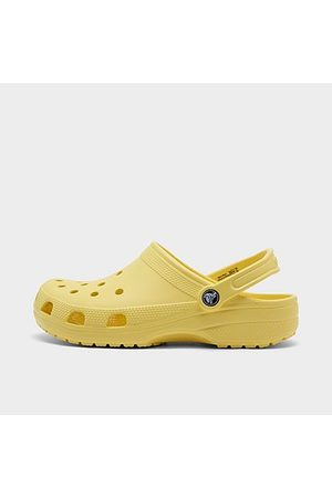 Crocs Unisex Classic Clog Shoes (Men's Sizing) in Yellow/Banana Size 5.0