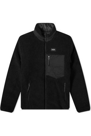 TAION Men Fleece Jackets - Reversible Fleece Down Jacket