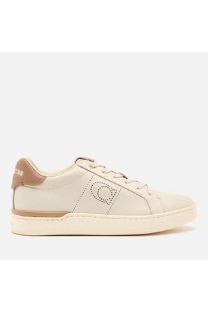Coach Women Sneakers - Women's ADB Leather/Suede Cupsole Trainers