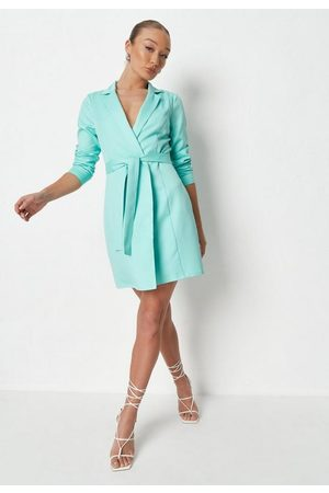 Missguided Basic Wrap Blazer Dress