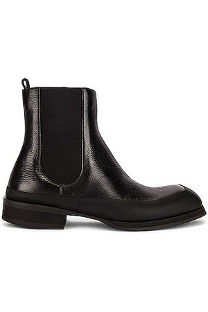 The Row Garden Leather Boots in