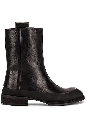 The Row Grunge Leather Boots in