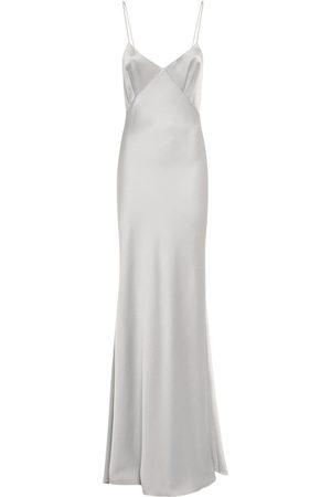 Max Mara Women Casual Dresses - Long Crepe Envers Satin Slip Dress