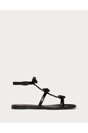 VALENTINO GARAVANI Women Sandals - French Bows Kidskin Flat Sandal Women 100% Lambskin 35