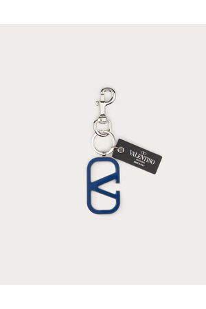 VALENTINO GARAVANI Men Keychains - Vlogo Signature Keychain Man Bright Brass 100% OneSize