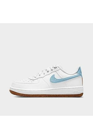 Nike Little Kids' Air Force 1 LV8 Casual Shoes in / Size 1.0 Leather/Canvas