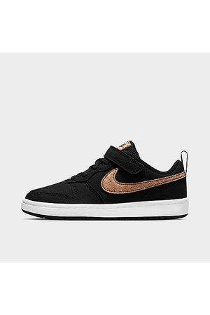 Nike Little Kids' Court Borough Low 2 Canvas Casual Shoes in / Size 1.0
