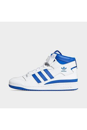 adidas Men's Originals Forum Mid Casual Shoes in / Size 10.0 Leather