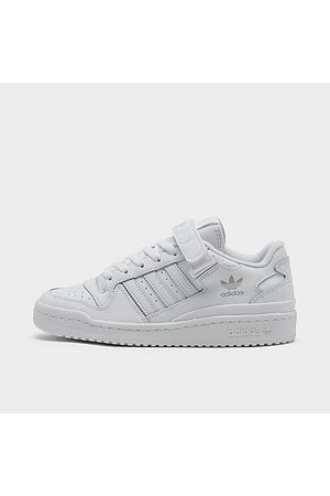 adidas Big Kids' Originals Forum Low Casual Shoes in / Size 3.5 Leather