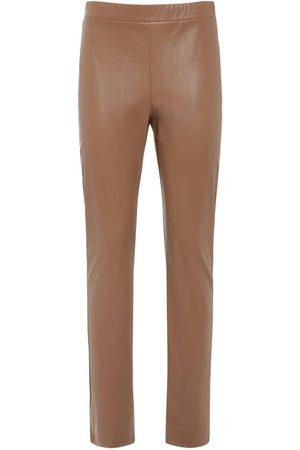 Max Mara Faux Leather Leggings