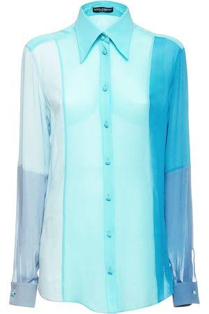 Dolce & Gabbana Chiffon Shirt