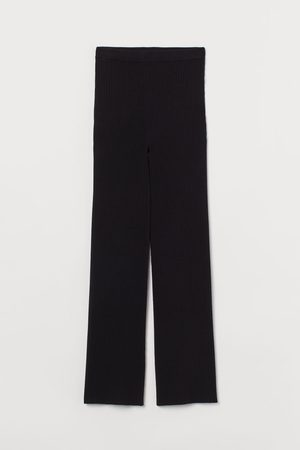 H&M Rib-knit Pants