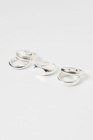 H&M 5-pack Rings