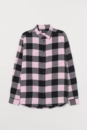 H&M Men Shirts - Cotton Flannel Shirt