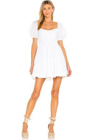For Love & Lemons Women Party Dresses - Jean Mini Dress in .