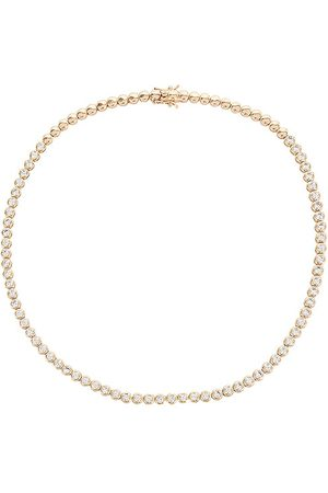 Lili Claspe Women Necklaces - Reese Tennis Necklace in Metallic .