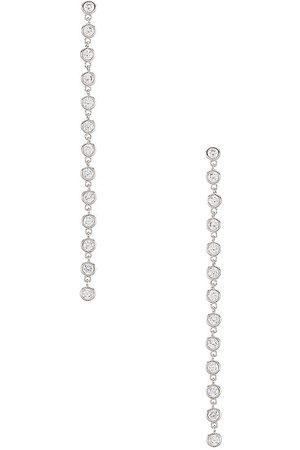 Lili Claspe Women Earrings - Cici Duster Earrings in Metallic .