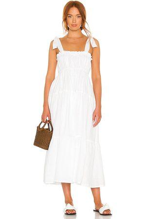 FAITHFULL THE BRAND Women Midi Dresses - Bellamy Midi Dress in .