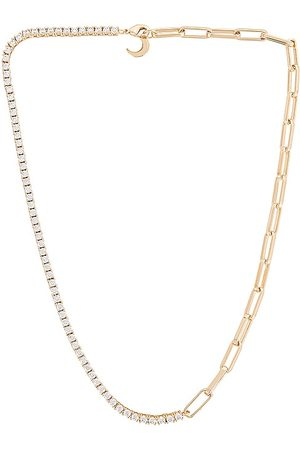 Lili Claspe Campbell Link Chain in Metallic .