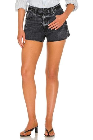 SLVRLAKE Women Shorts - Farrah Relaxed Cut Off Short in .