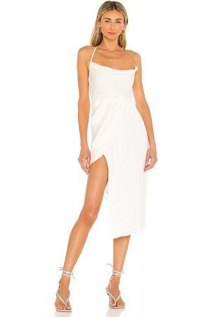 Michael Costello Women Midi Dresses - X REVOLVE Tessa Midi Dress in Ivory.