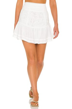 Tularosa Cierra Embroidered Skirt in .