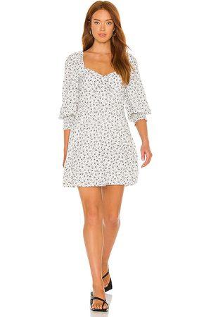 FAITHFULL THE BRAND X REVOLVE Arianne Mini Dress in White.
