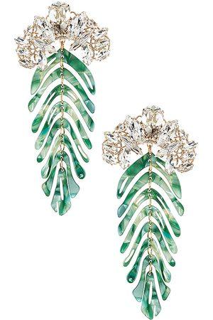 Anton Heunis Fun Crystal Pendant Earrings in .