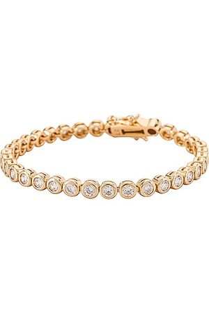Lili Claspe Reese Tennis Bracelet in Metallic .