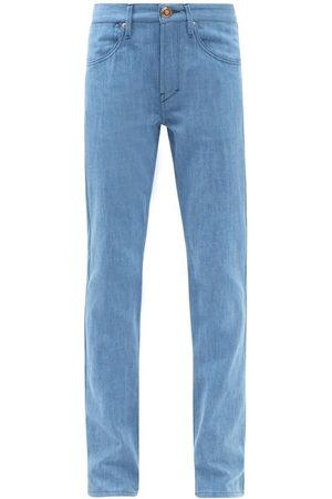 GABRIELA HEARST Women High Waisted - Charles High-rise Slim-leg Jeans - Womens - Light