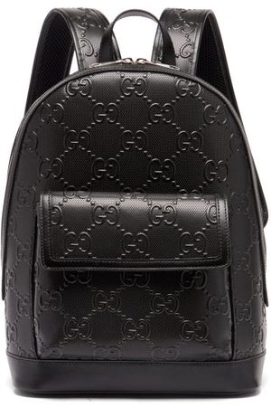 Gucci GG Tennis Leather Backpack - Mens