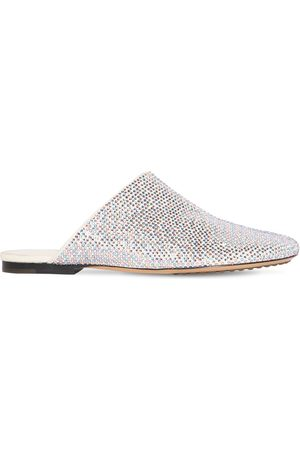 Bottega Veneta Women Slippers - 10mm Sparkle Dot Sock Slippers