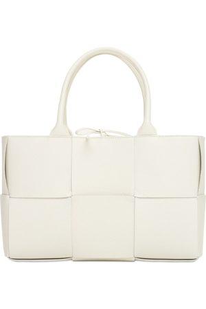 BOTTEGA VENETA Women Tote Bags - Small Arco Intreccio Leather Tote Bag