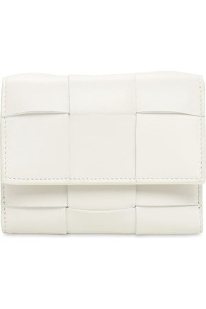 Bottega Veneta Intreccio Bi-fold Leather Wallet