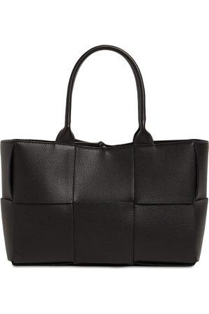 Bottega Veneta Women Tote Bags - Md Arco Grainy Leather Tote Bag