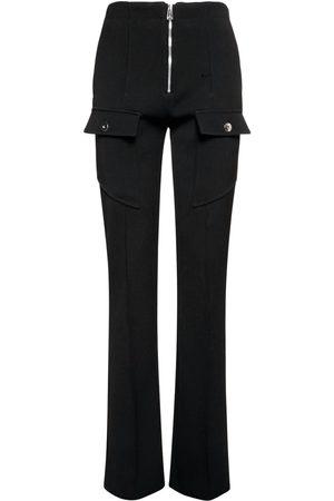 Bottega Veneta Stretch Double Wool Cavalry Pants