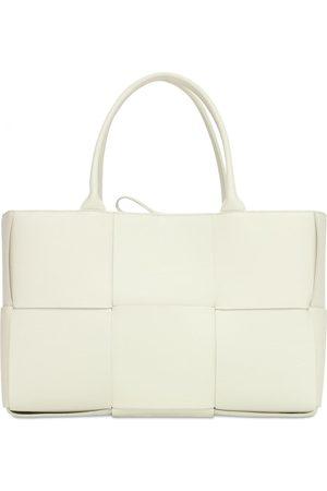 Bottega Veneta Medium Arco Grainy Leather Tote Bag