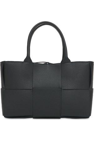 Bottega Veneta Small Arco Intreccio Leather Tote Bag