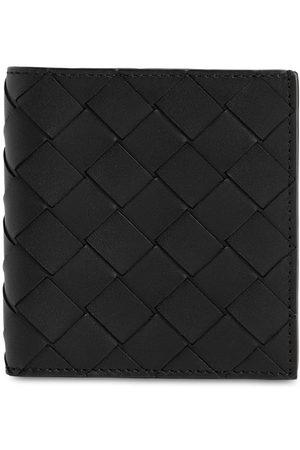 Bottega Veneta Men Wallets - Intrecciato Leather Card Holder Wallet