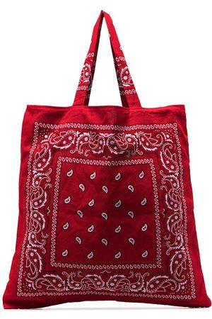 Arizona Love Women Tote Bags - Bandana-print tote bag