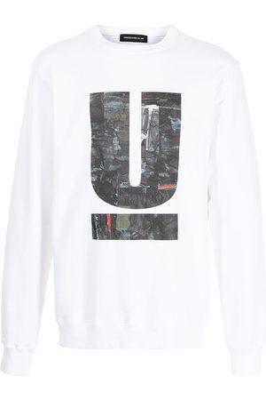 UNDERCOVER Men Sweatshirts - Logo denim print sweatshirt