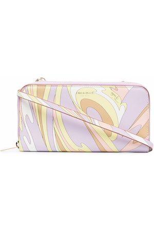 Emilio Pucci Women Wallets - Vortici-print wallet